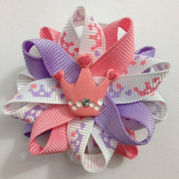 Princess Crowns Hair Bows