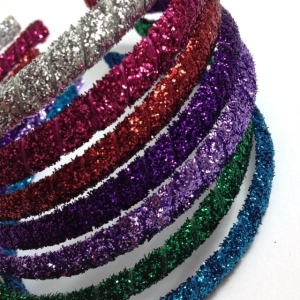 Glitter Ribbon Headband