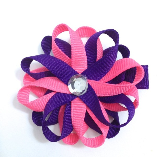 Tutti Frutti Sugar Plum Hair Bow