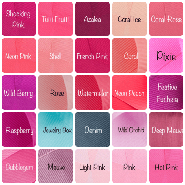 Solid Color Chart 1