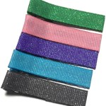 Dazzle Grosgrain Hair Clips
