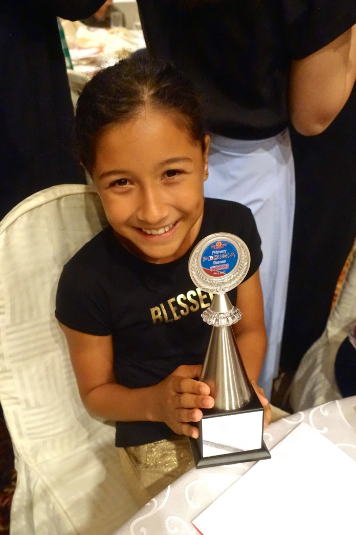 swimming trophy