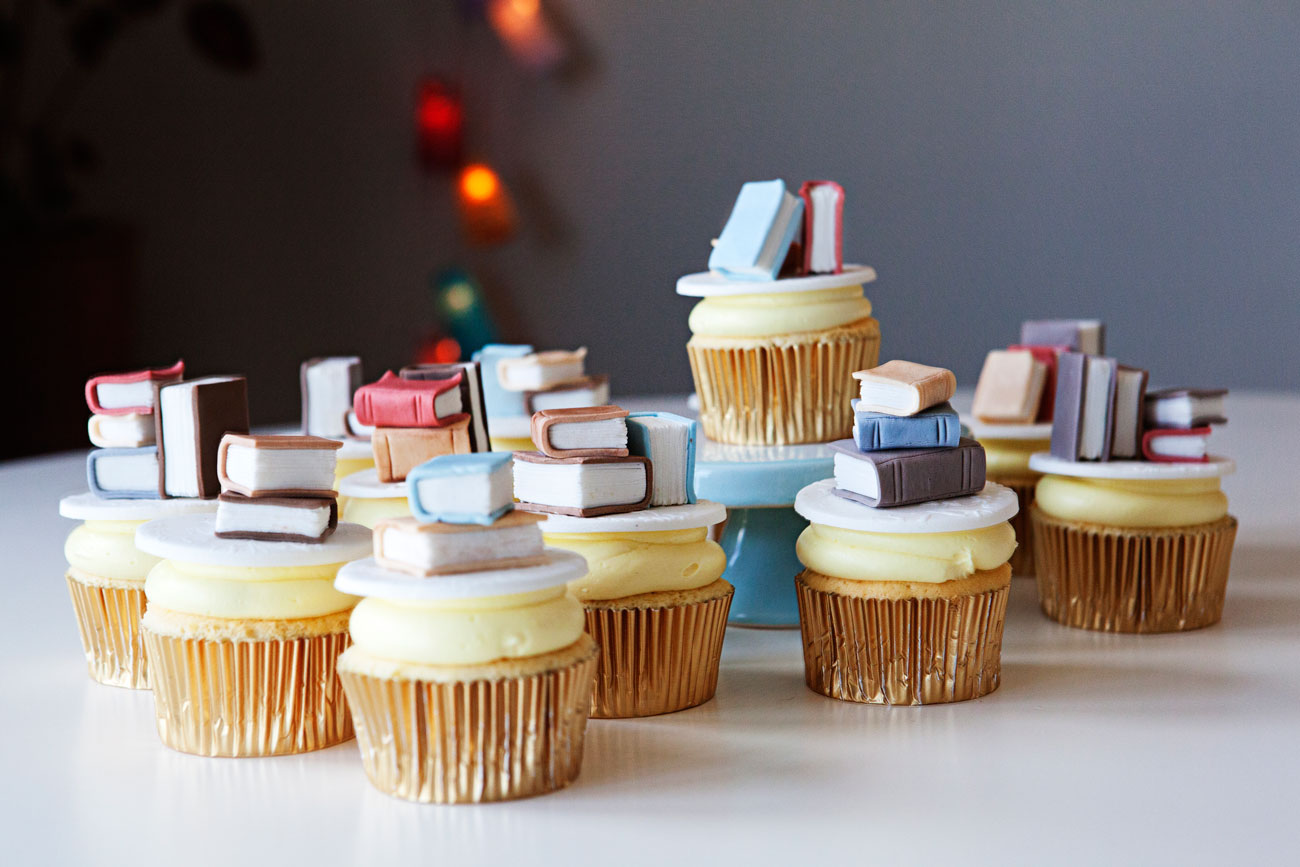 30 Delightful Writer Cupcakes