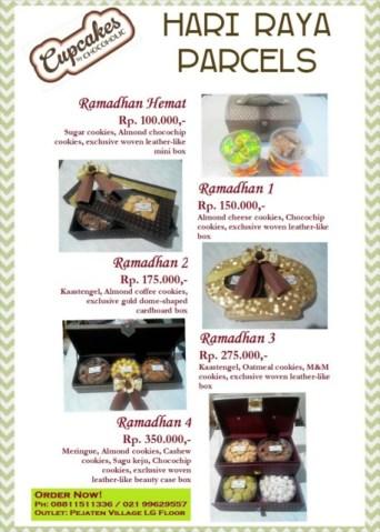 Hamper Kue Kering Hari Raya Cantik di Jakarta