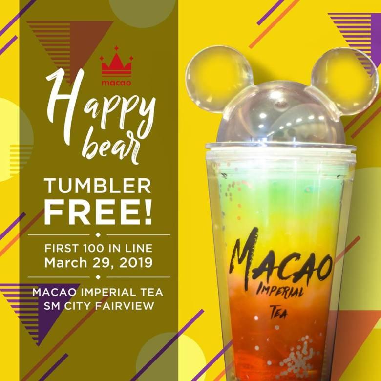 Macao Imperial Tea Promo