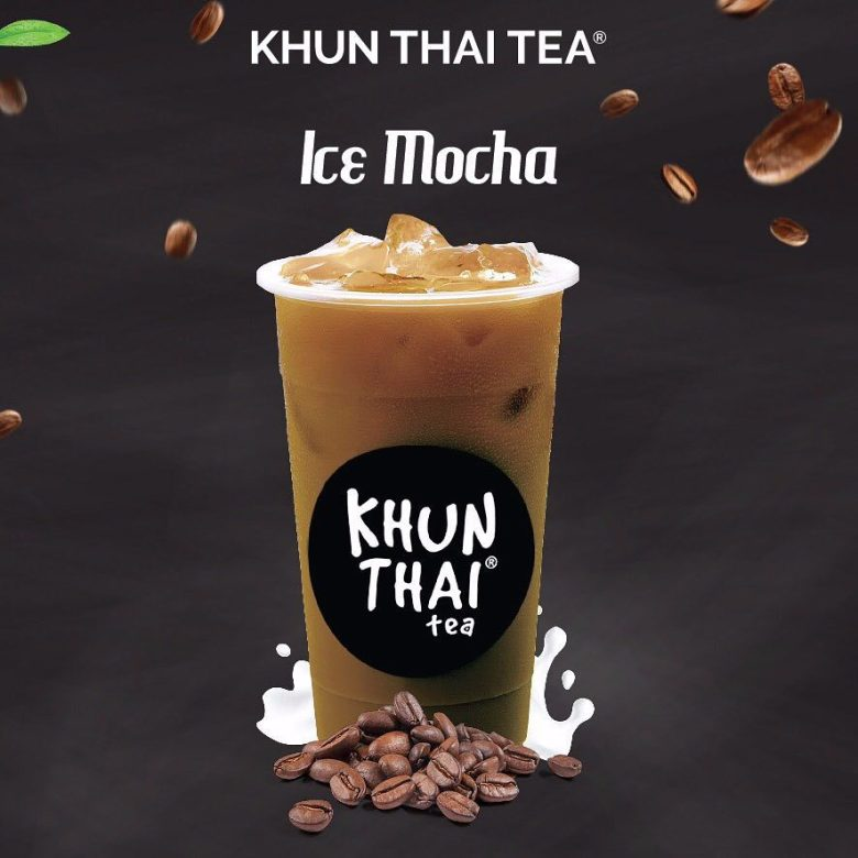 khun thai tea ice mocha
