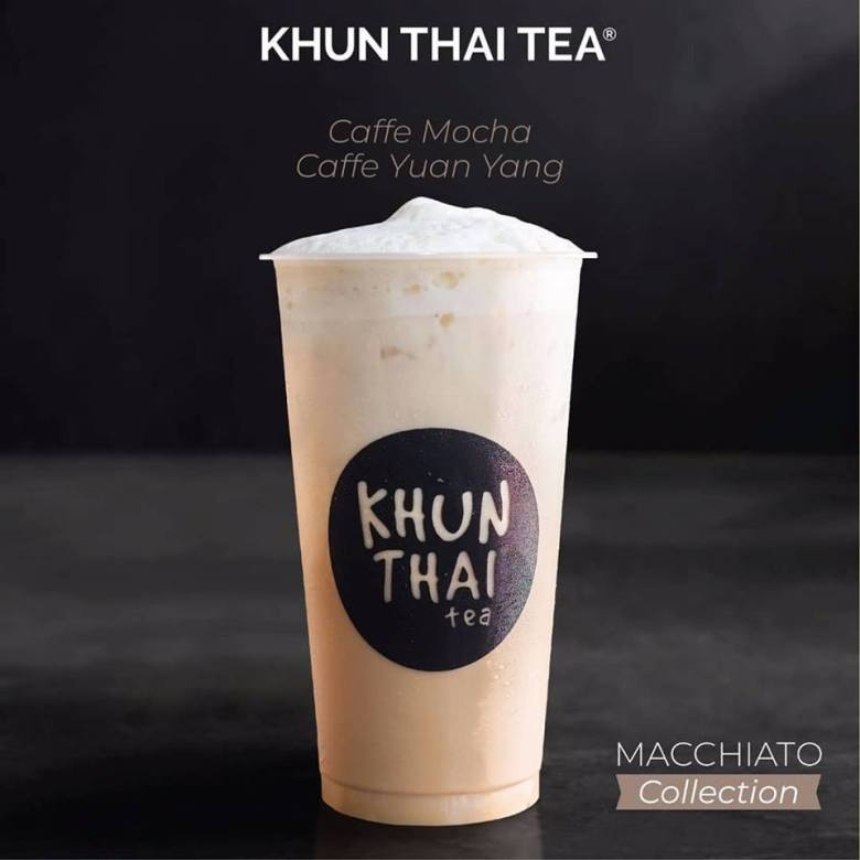 new variant from khun thai tea caffe mocha and caffe yuan yang