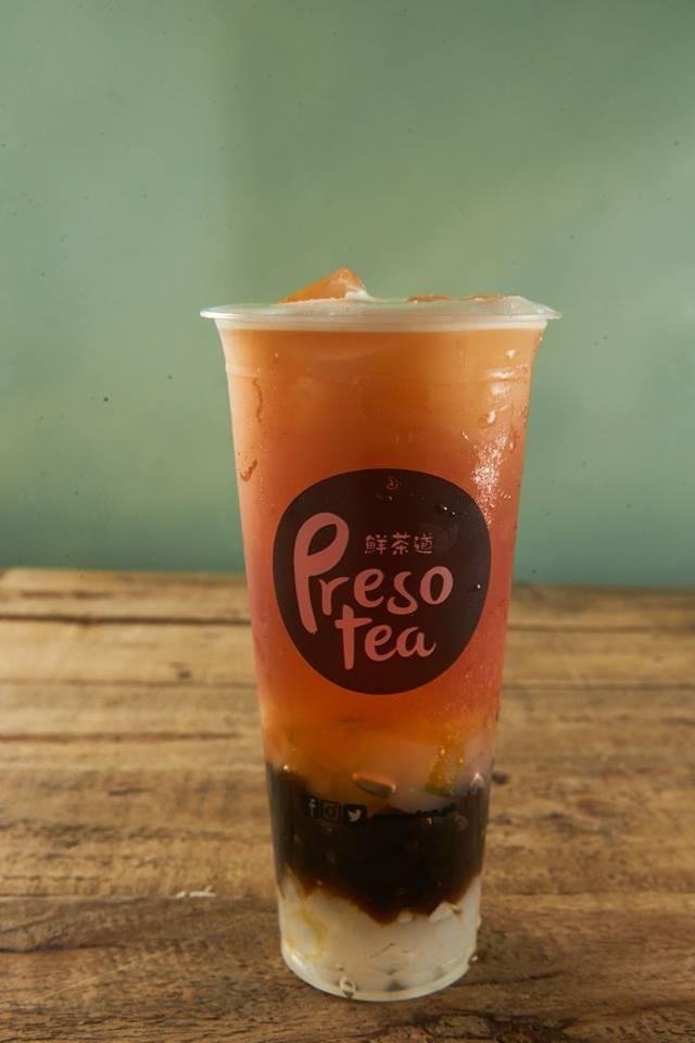 presotea QQ passion fruit tea