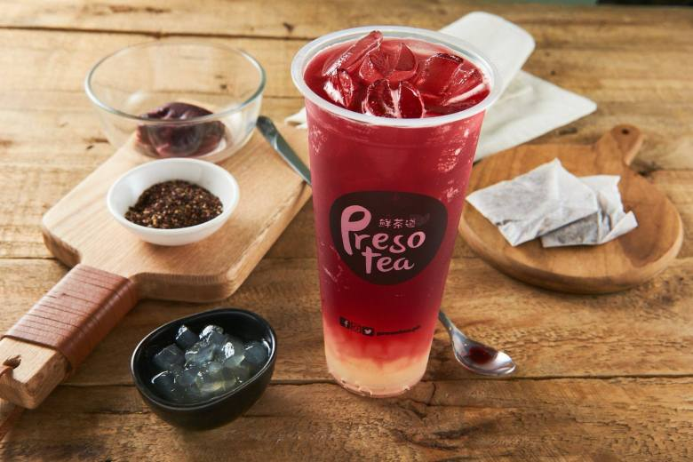 presotea blueberry aloe vera tea