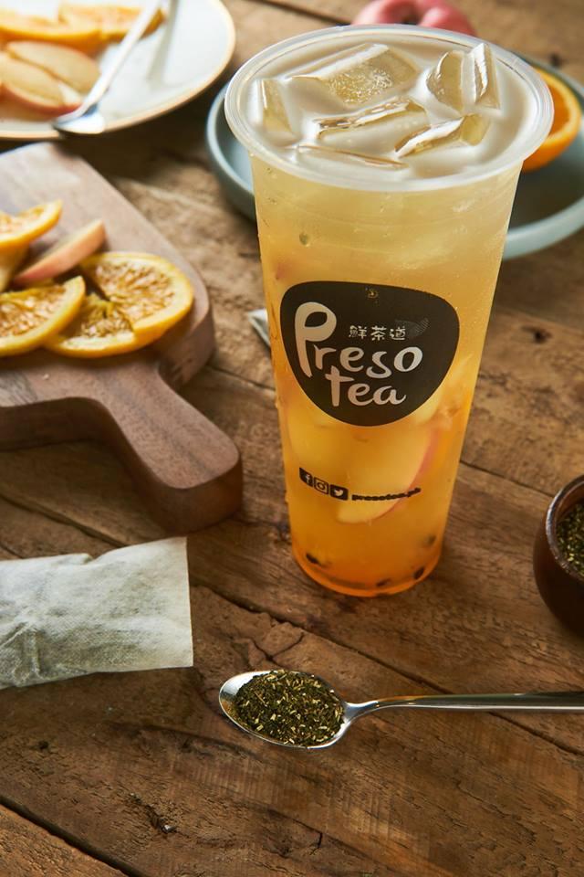 presotea signature fruit tea