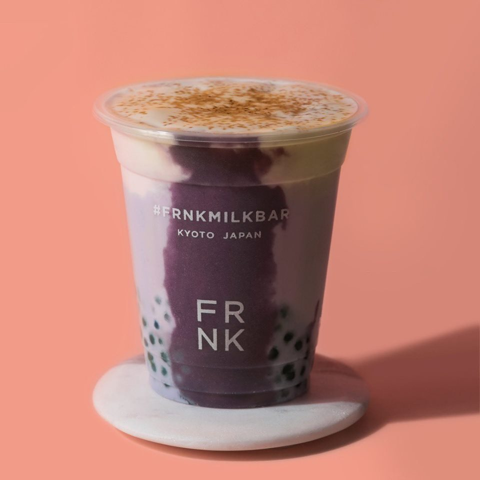 frnk milk bar baked purple yam