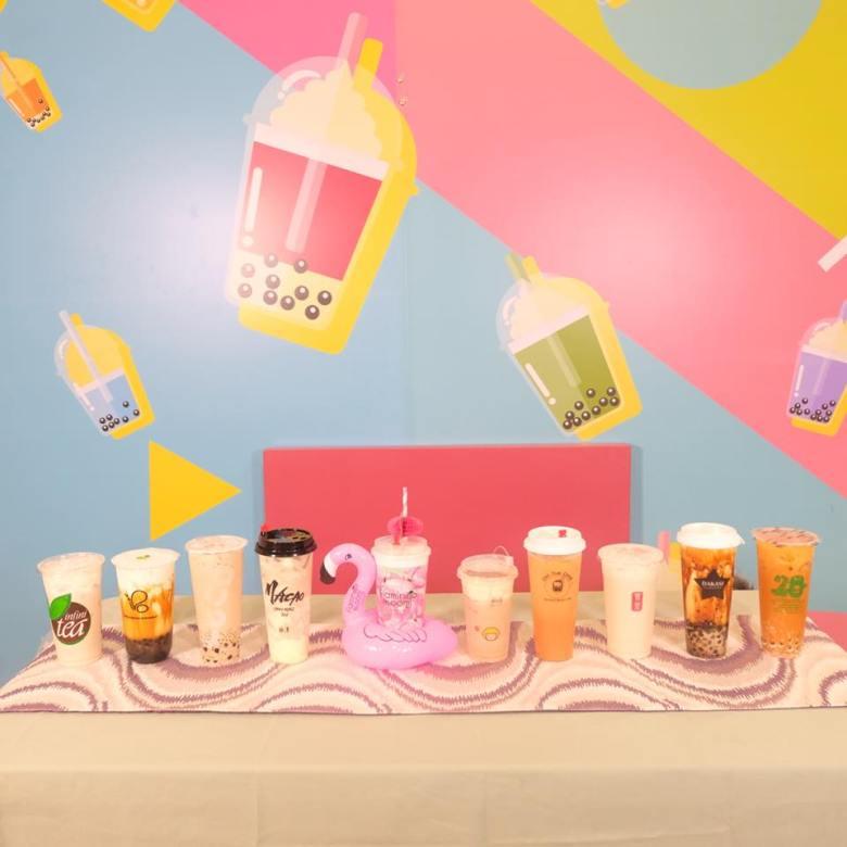 milk tea party at sm north edsa