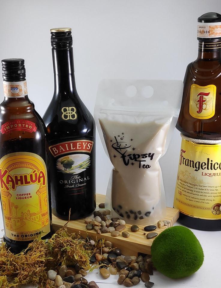 alcohol milk tea