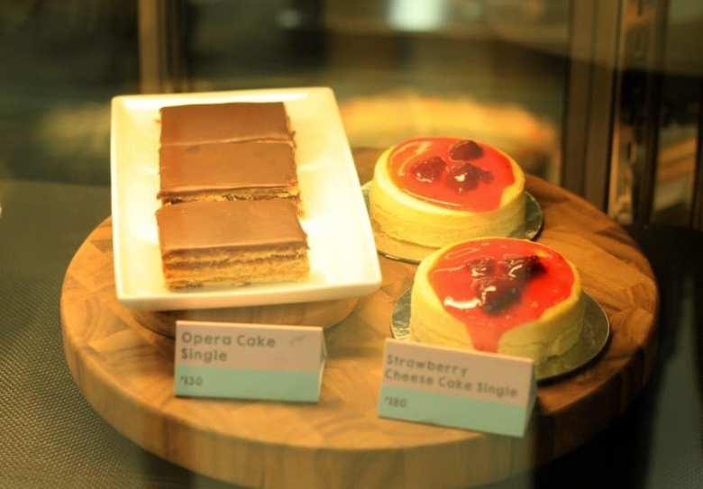 city blends cafe cake