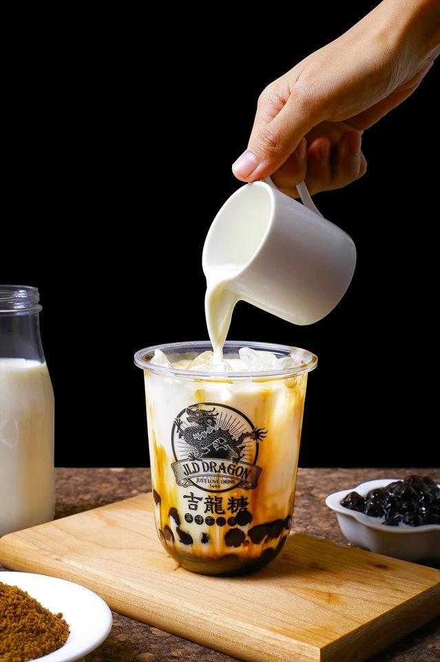 JLD Dragon Brown Sugar Bubble Milk