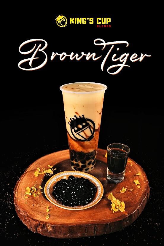 Kings Cup Blends Brown Tiger
