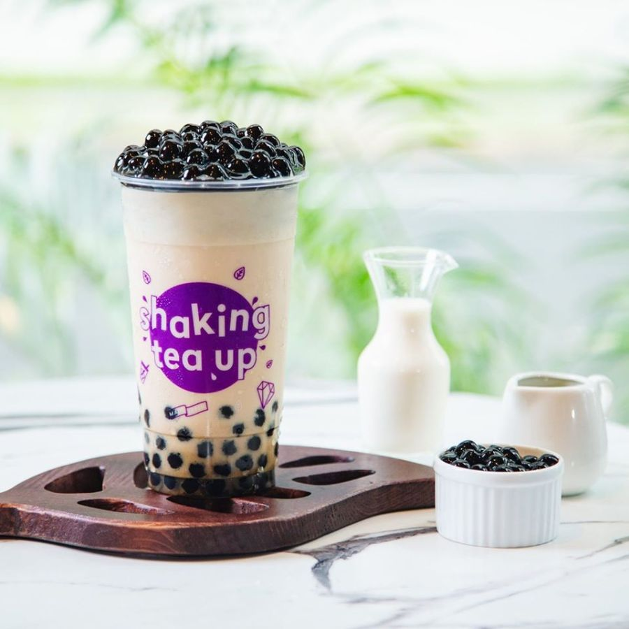 chatime pearl milk tea