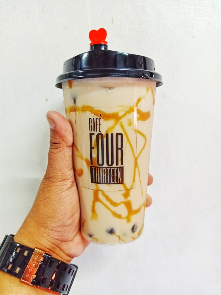 cafe four thirteen best selling milk tea