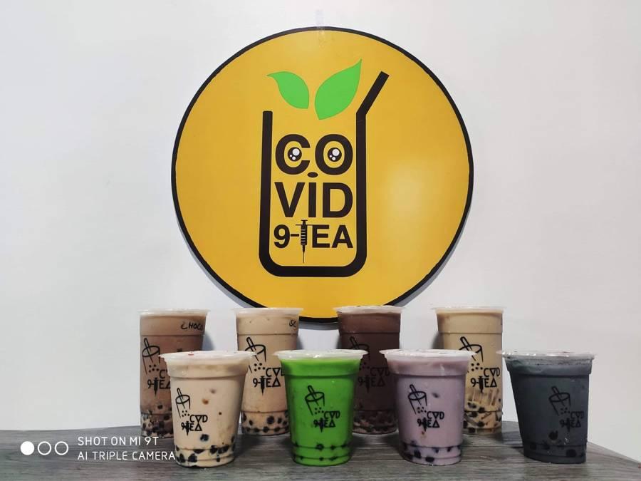 Covid9Tea Funny Milk Tea Name in the Philippines