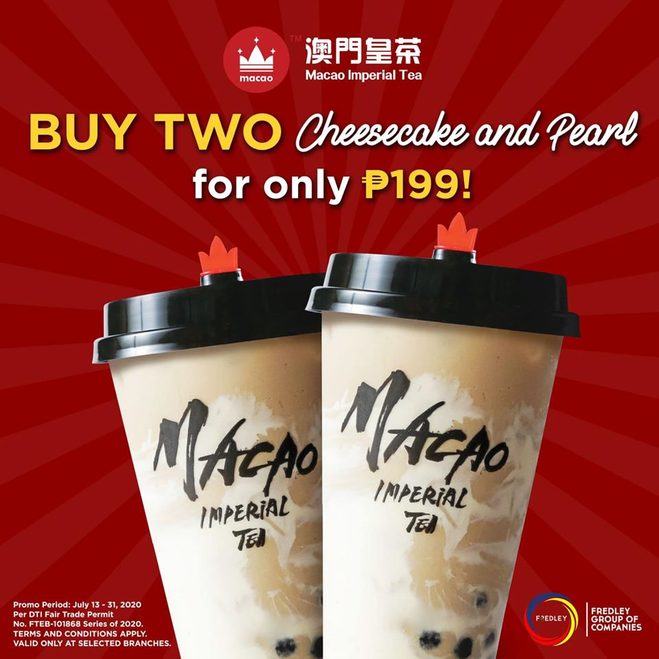 Macao Imperial Tea Promo July 2020