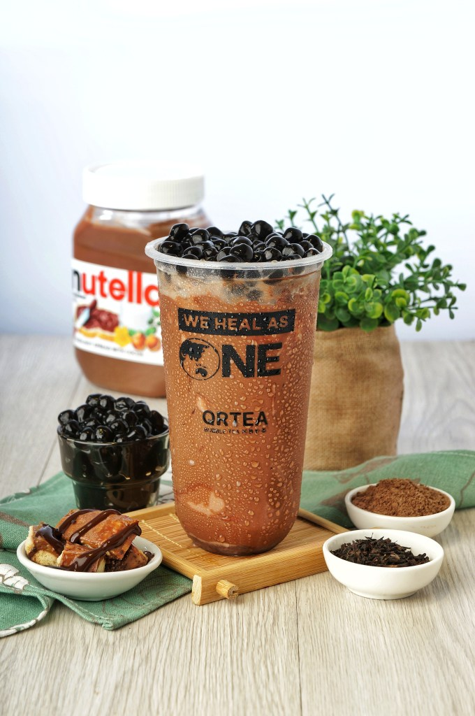 QRTEA Bubble Tea Nutella