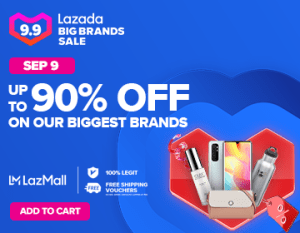 Lazada September 9 Sale