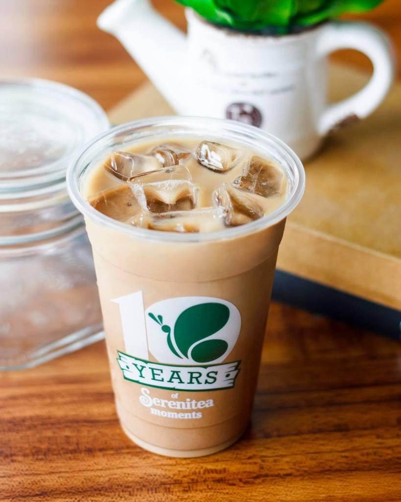 Serenitea Okinawa Milk Tea without pearls