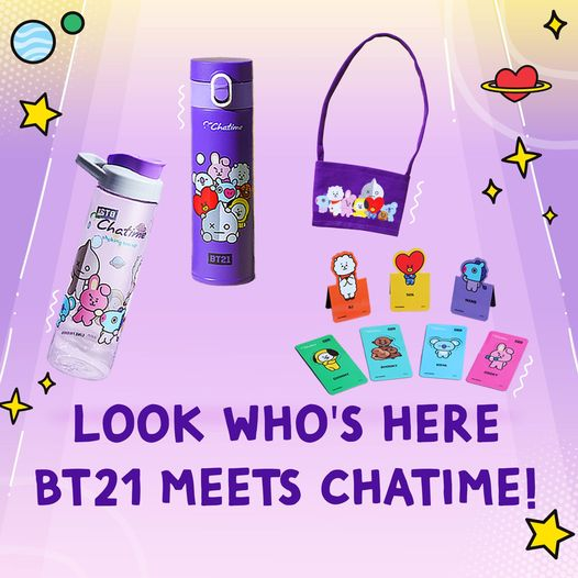 BT21 Merchandise Chatime Philippines