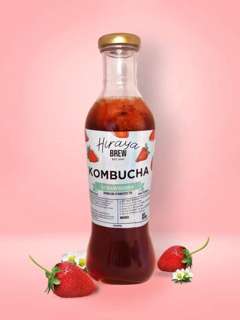 Hiraya Brew Strawberry Kombucha