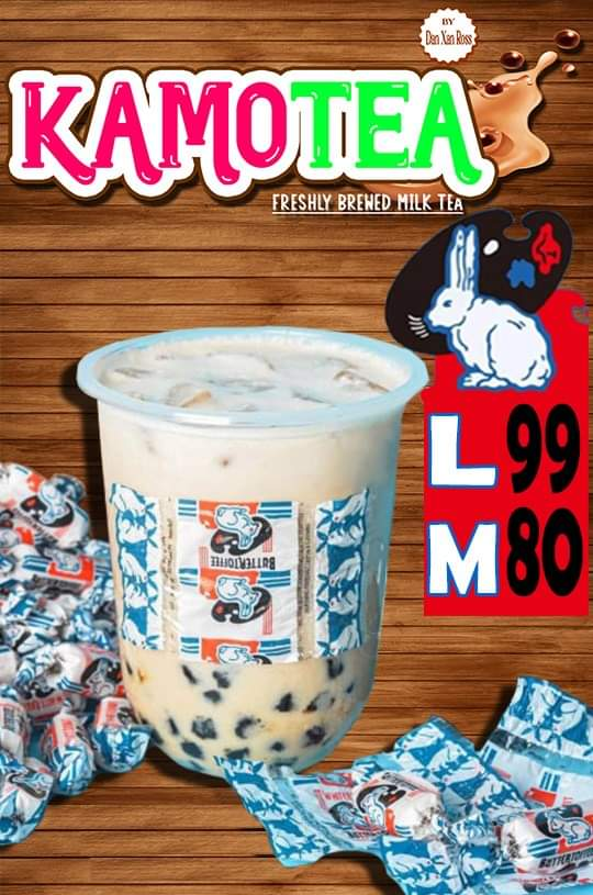 KamoTEA ka ba White Rabbit Milk Tea