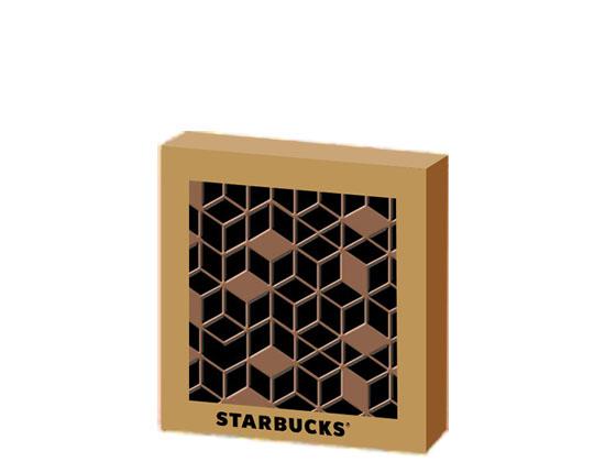 Starbucks Gem Coaster