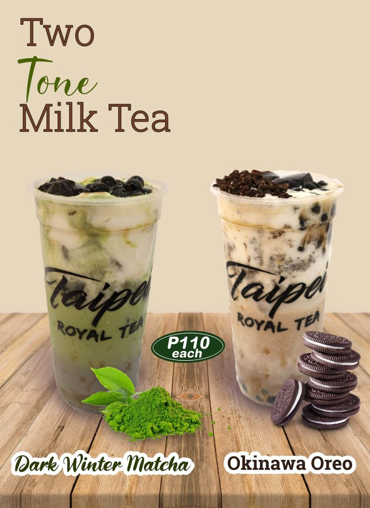 Taipei Royal Tea Two Tone Milk Tea