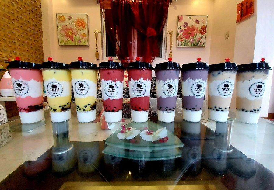 Bubbly Atteatude Milktea Shop Best selling Drinks