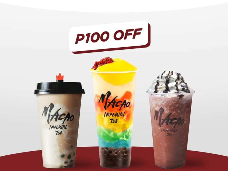 """Macao Imperial Tea promo code """"MILKTDAY"""""""