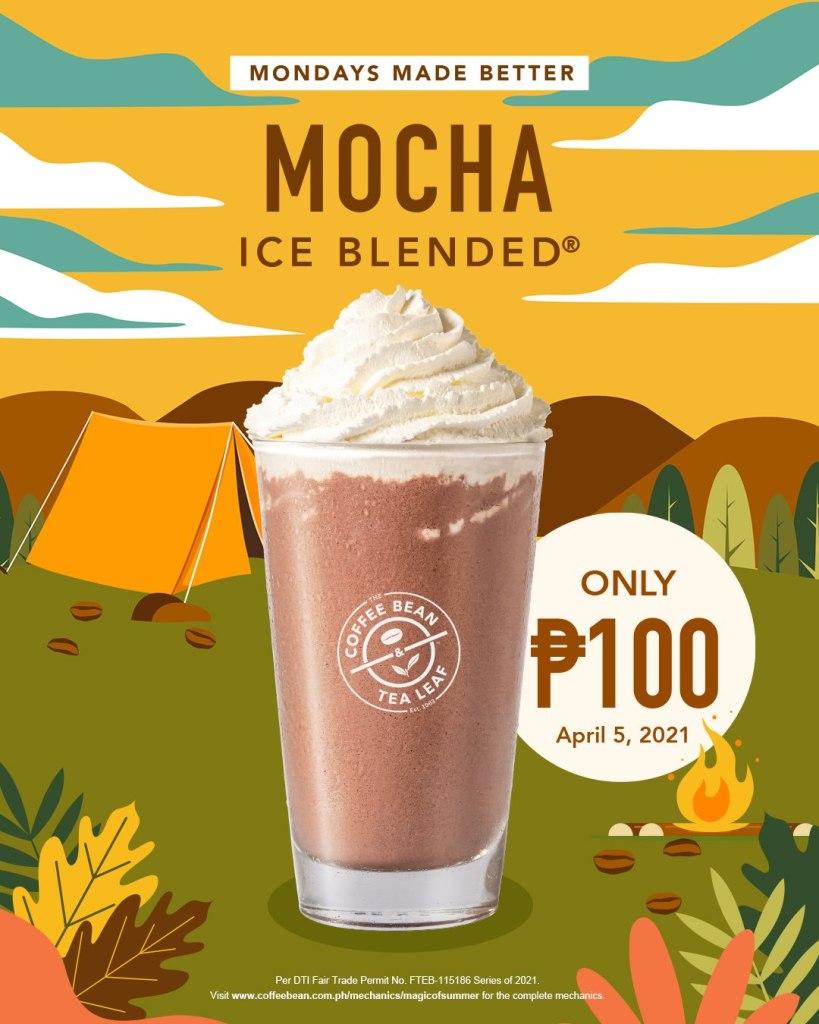 Mondays Made Better 2021 Mocha Ice Blended P100