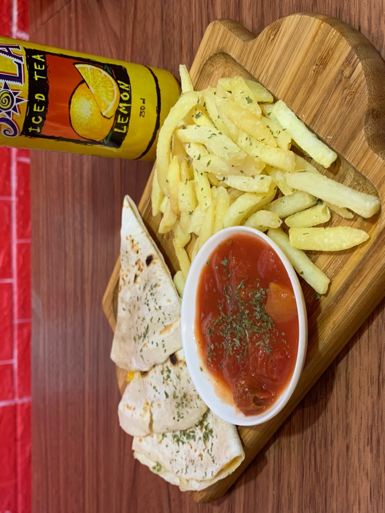 Project Enyi - Coffee + Tea Hub Fries and Taco