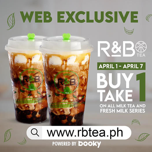 R&B Buy One Take One Launch Promo