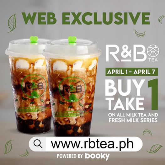 R&B Buy One Take One Launch Promo
