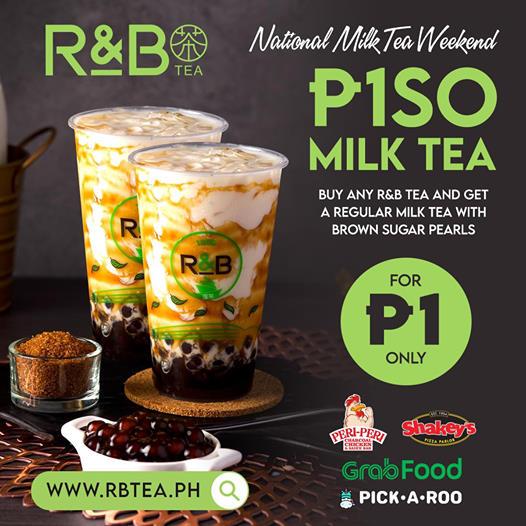 R&B Piso Milk Tea Promo