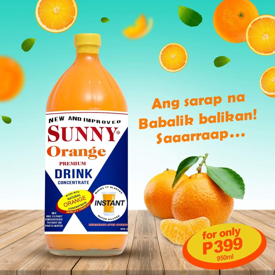Sunny Orange Philippines 950ml