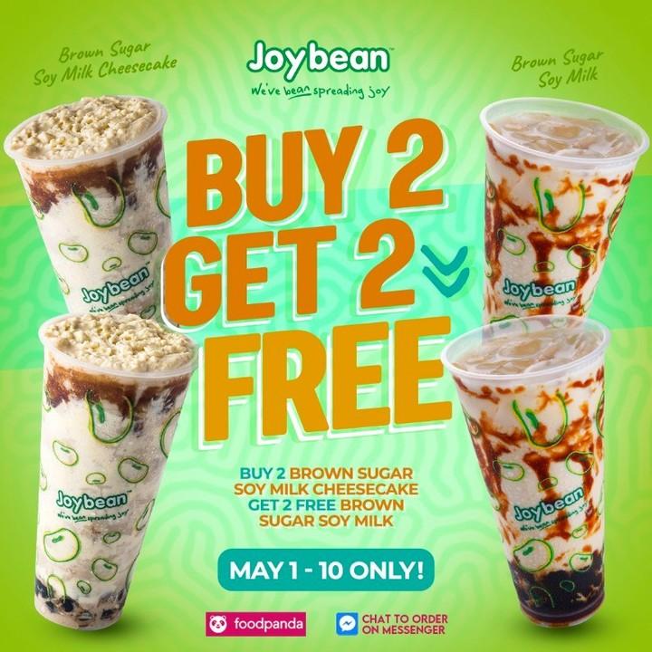 Joybean Promo Buy 2 Get 2 FREE
