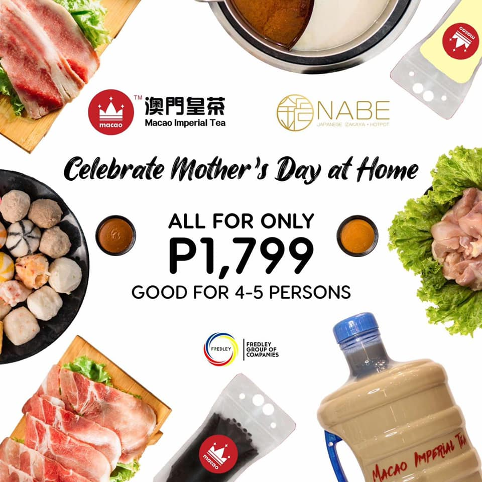 Macao Imperial Tea and Nabe Mother's Day Promo