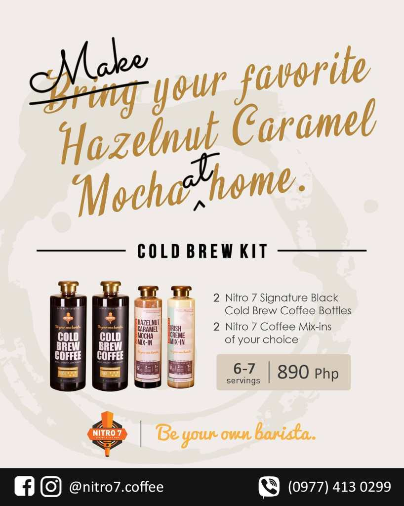 May your own Cold Brew at Home with Nitro 7