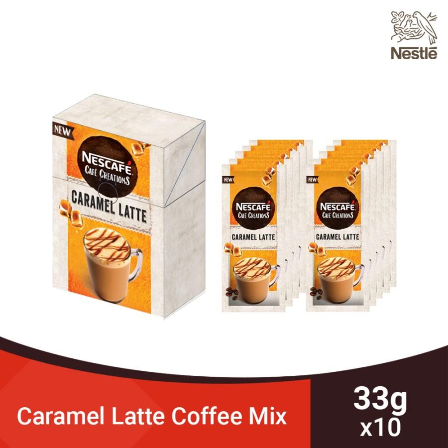 Nescafe Caramel Latte Coffee Mix