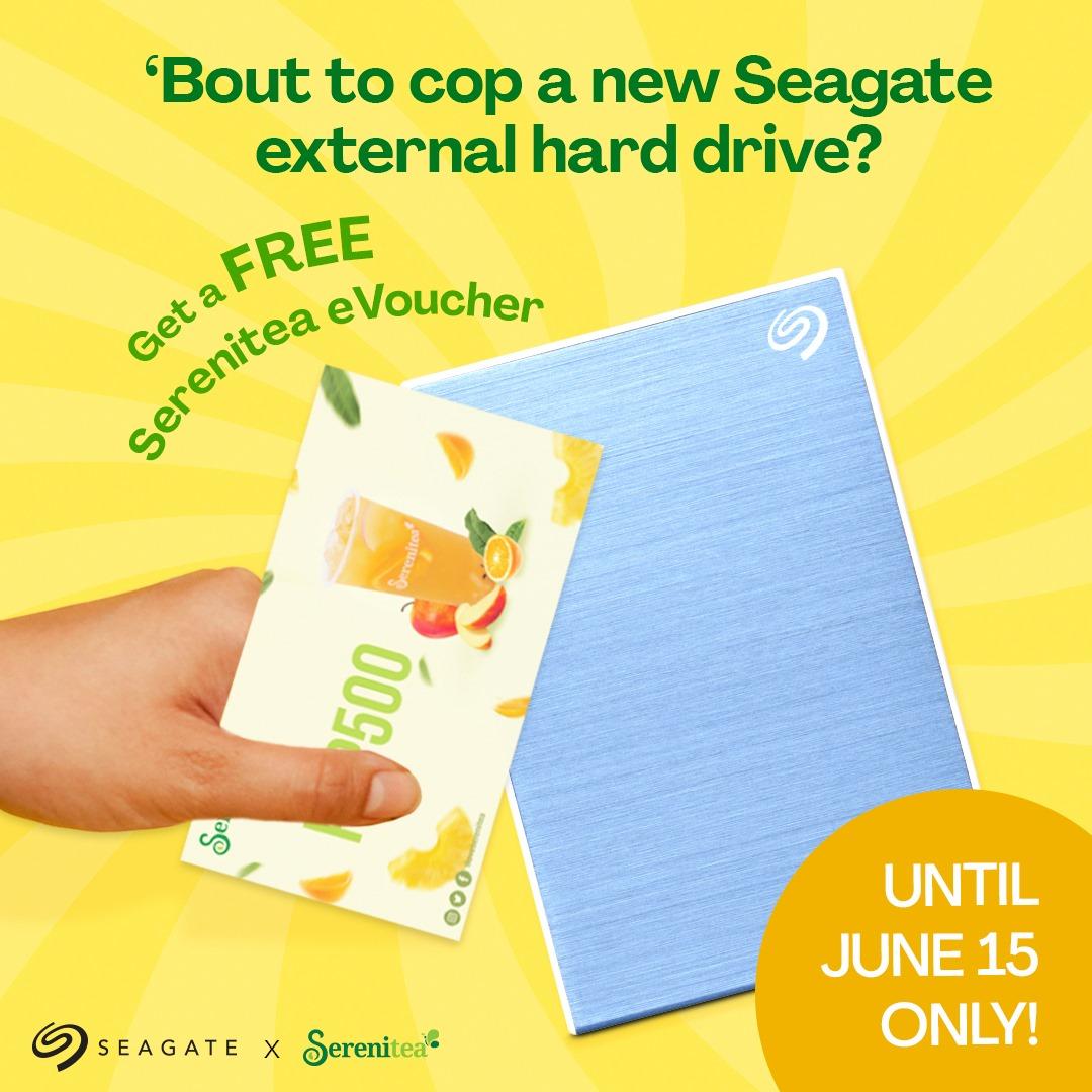 Serenitea Promo Seagate External Hard Drive
