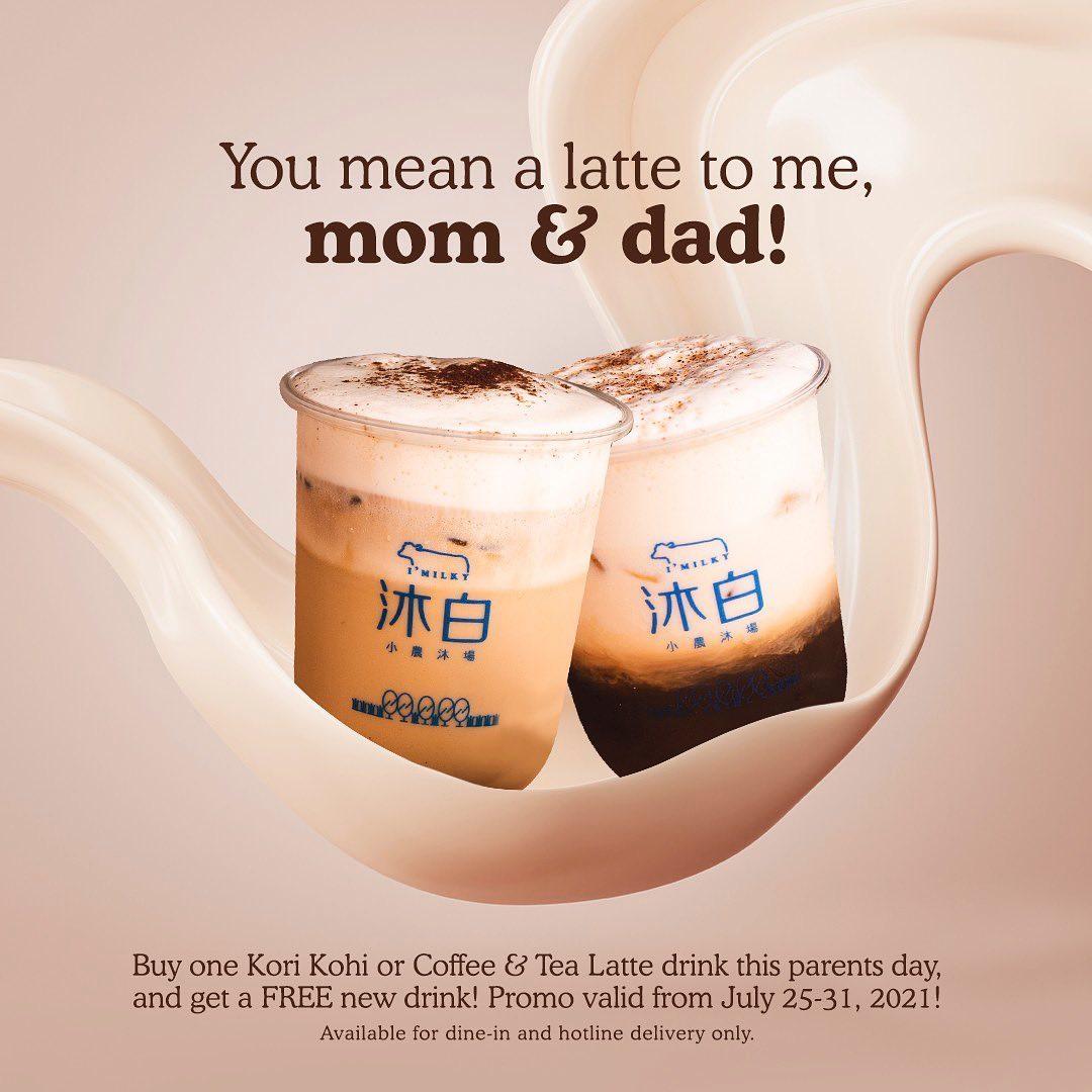 I'Milky Parents Day Promo 2021