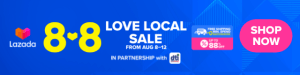 8.8 Lazada Love Local Sale