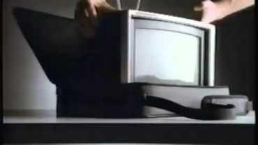 Apple IIc Ad – Portable Computer (1984)