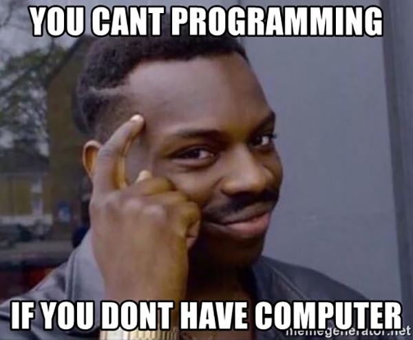 Python Is Not For Computer Programming Computer Meme On