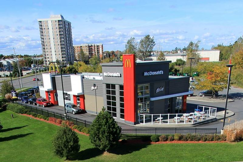 McDonalds restaurant design